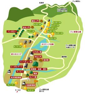 八ヶ峰家族旅行村マップ