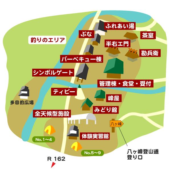 シンボルゲート周辺マップ