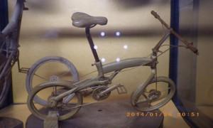竹細工 自転車1